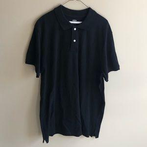 💜 Old Navy Men's Black Polo Classic Shirt XL